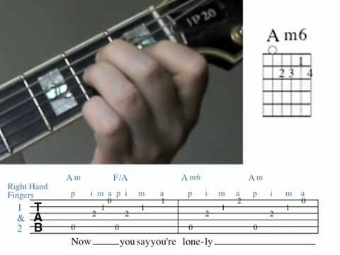 Cry me a River Guitar Lesson Chords measures 1&2.mov