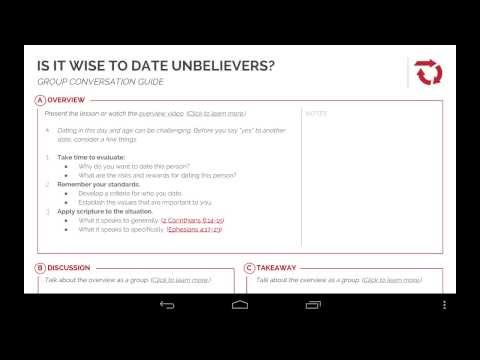 Q & A | Should I Marry an Unbeliever? from YouTube · Duration:  6 minutes 43 seconds