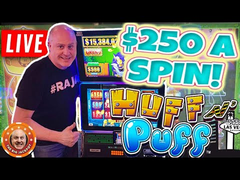 THE BIGGEST LOCK IT LINK BETS YOULL EVER SEE! Huge Las Vegas Slot Jackpots LIVE