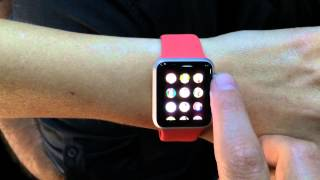 Apple Watch Demo