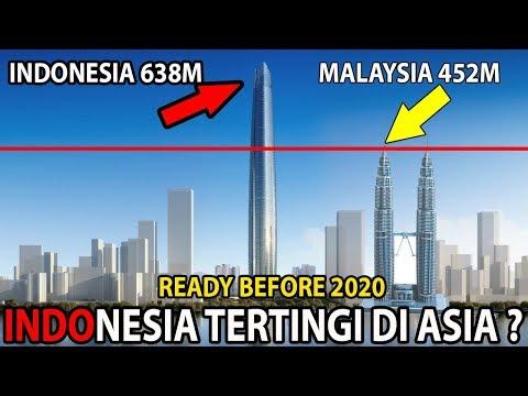 Kalahkan Shanghai China? 8 Bangunan Pencakar Langit Tertinggi Di Indonesia