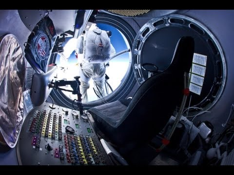 RED BULL STRATOS [FULL HD] - Felix Baumgartner Supersonic Freefall