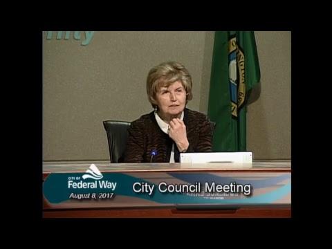 08/08/2017  - Federal Way City Council - Regular Meeting