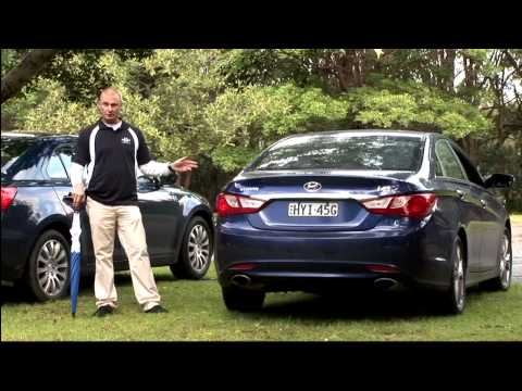 Hyundai i45 & Suzuki Kizashi Comparison Car Review