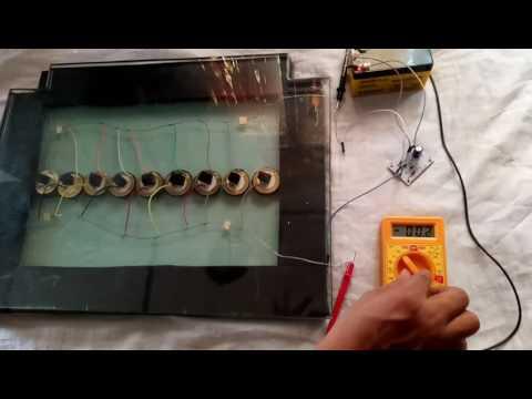 Footstep piezoelectric generator