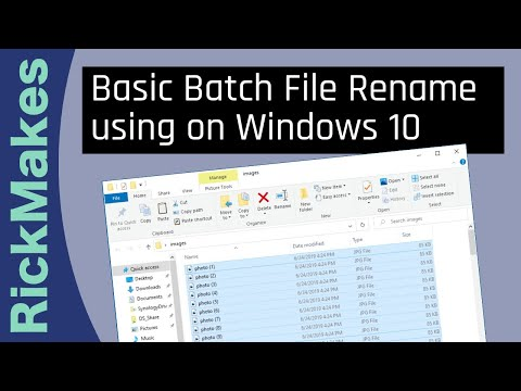 How To BATCH RENAME FILES from YouTube · Duration:  2 minutes 22 seconds