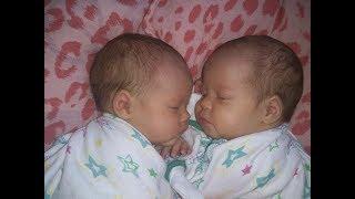 Две двойняшки две сестрички рядом не разлей вода . Клип про двойняшек