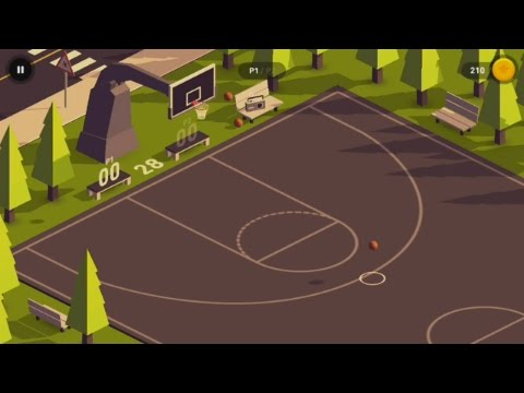 HOOP (by PixelTurtle) - sport game for android - gameplay.