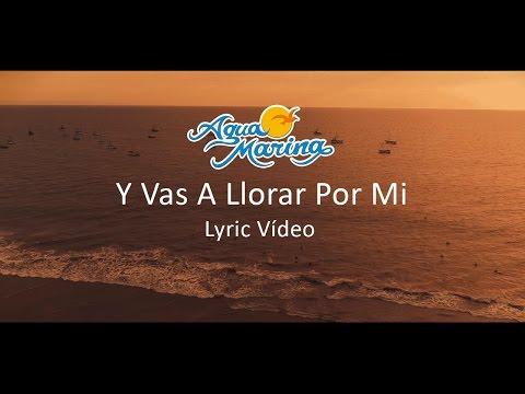 Agua Marina - Y Vas A Llorar Por Mi (Vol.14) Lyric Video