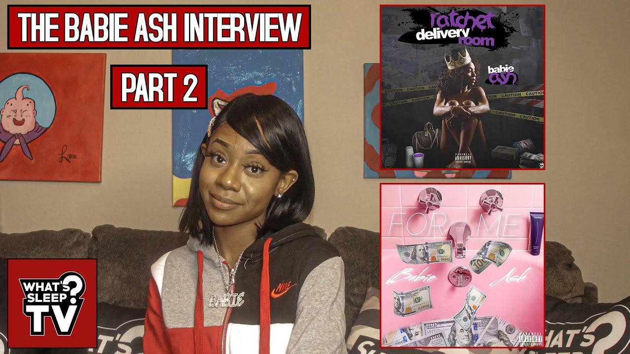 "Babie Ash Explains The Artwork For ""Ratchet Delivery Room"" & Video Plans For Her Song ""For Me"""