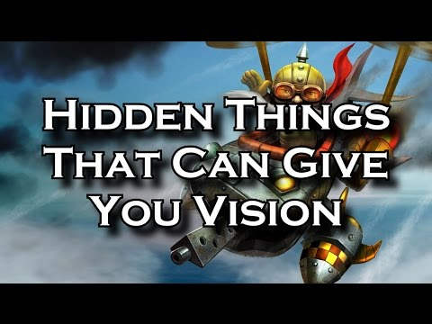 Hidden Things That Can Give You Vision in Your Games | League of Legends LoL