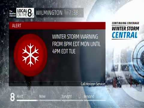 The Weather Channel   Winter Storm Stella   03 12 2017