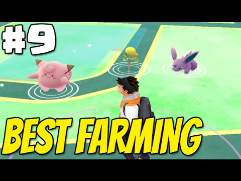 POKEMON GO Adventures #9 | BEST FARMING area in Long Island NY  - Pokemon , Pokestops & Gym