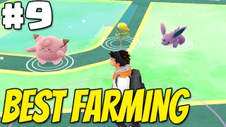 POKEMON GO Adventures #9 | BEST FARMING area in Long Island NY  - Pokemon , Pokestops & Gym