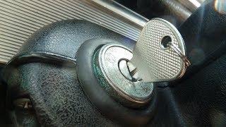 Как открыть ваз 2107  без ключа и завести.если потерял ключи. помощь в дороге.