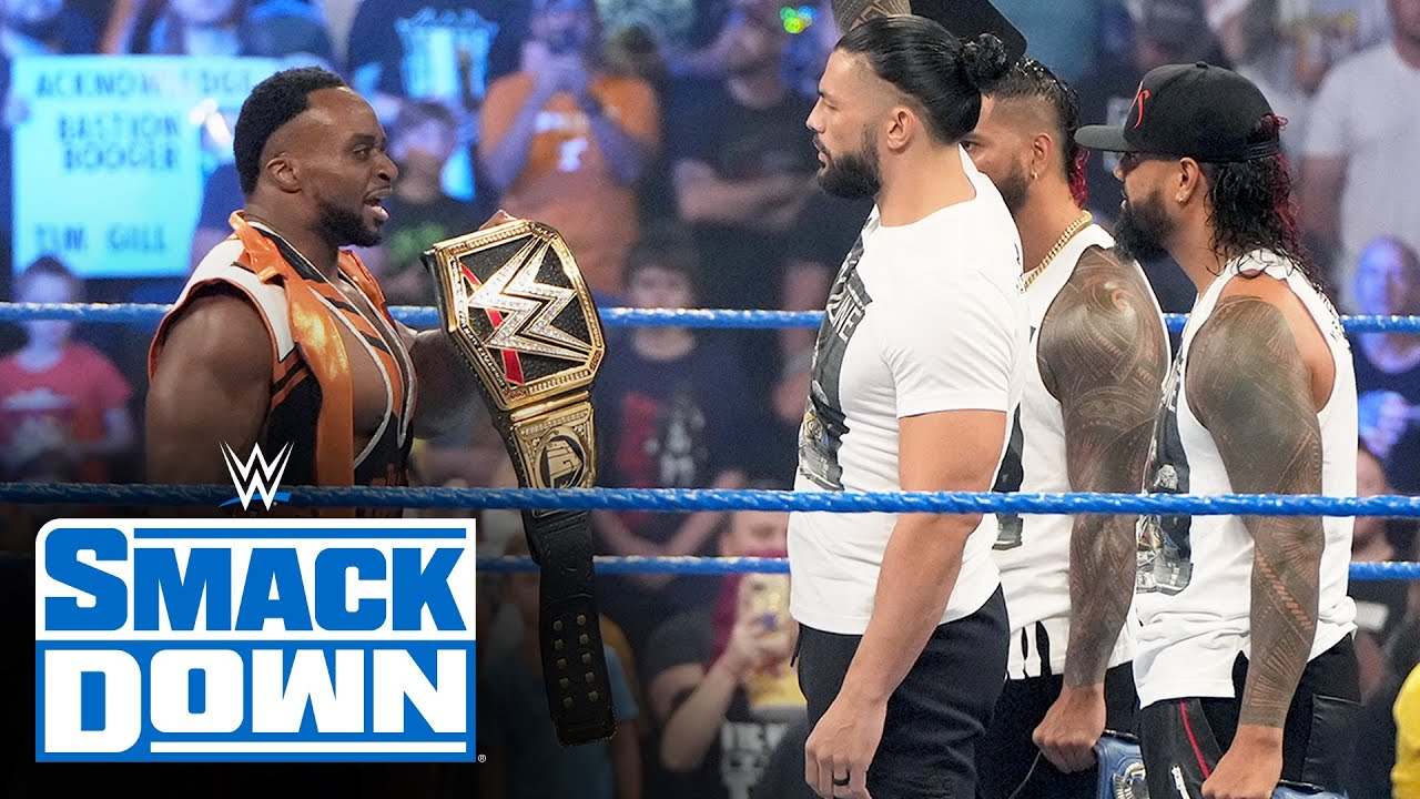 Download The new WWE Champion Big E Interrupts Roman Reigns: SmackDown, Sept. 17, 2021