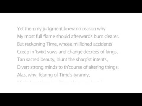 Shakespeare's Sonnet 115 – Those Lines That I Before Have Writ Do Lie