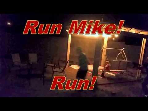 Soda and Mentos gun Atack! Ep1: Mike form Burgandy Jurk gets soaked!!!!