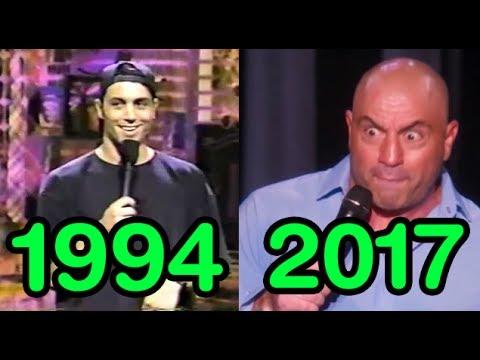 The Evolution of Joe Rogan (1994-2017)