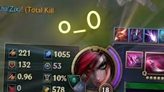 WHAT HAPPENS WHEN YOU GET 1055 AP AS KATARINA ?