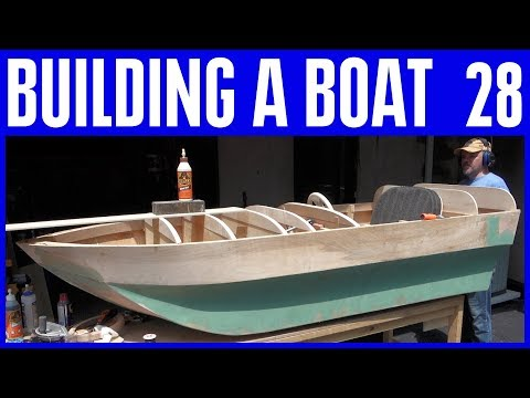 How to Build a Small Electric Wooden Boat 28 Not Using Marine Plywood
