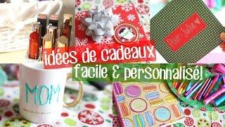 Idées de cadeaux de Noël DIY | Facile & personnalisé!