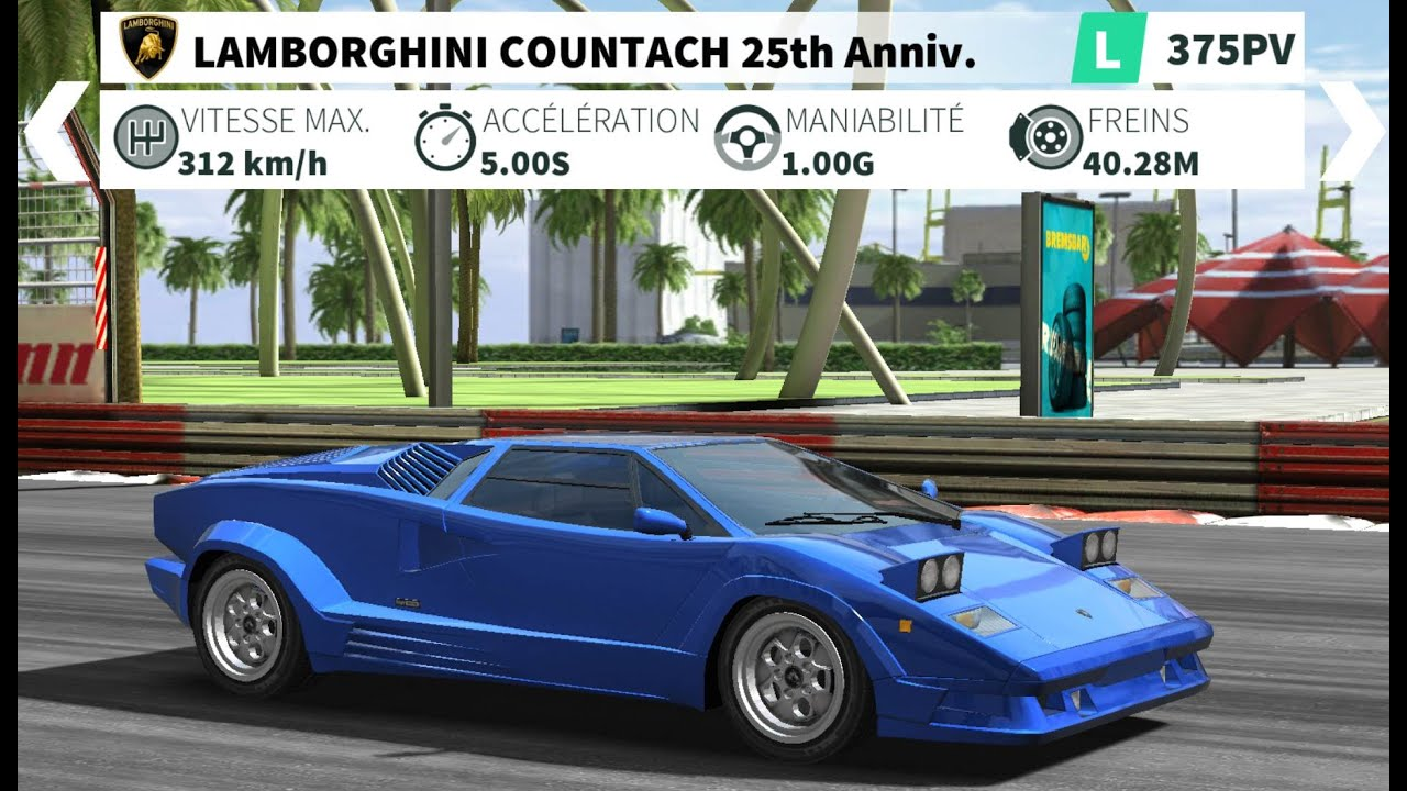 gt racing 2 lamborghini countach in montreal youtube. Black Bedroom Furniture Sets. Home Design Ideas