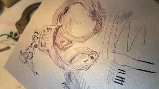 Drawing handcuffs