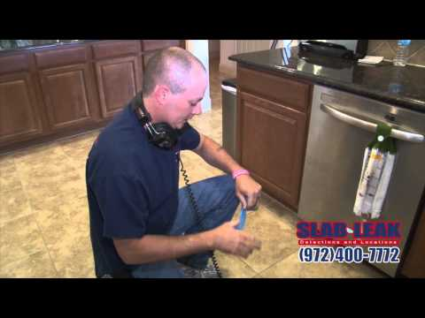 Slab Leak Inspections in Richardson
