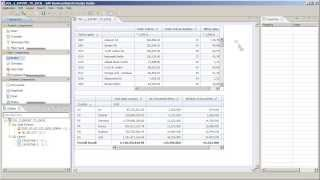 Export data from a crosstab to Microsoft Excel: Design Studio 1.2