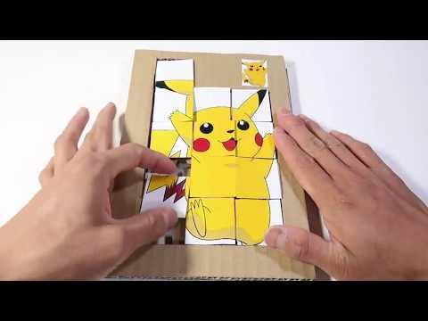 DIY game Jigsaw Puzzle pikachu