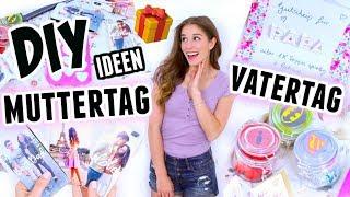5 easy DIY MUTTERTAG und VATERTAG GESCHENKE ♡ BarbaraSofie