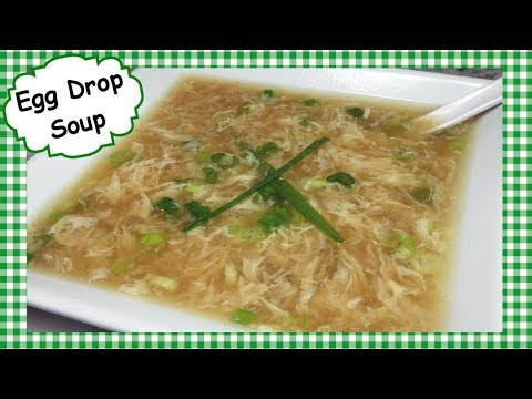 Classic Chinese Egg Drop Soup Recipe ~ 10 Minute Egg Drop Soup