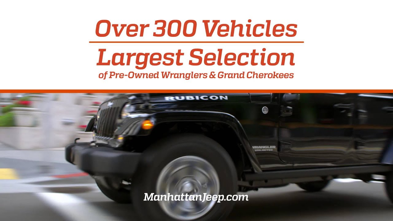 Manhattan Jeep Chrysler Dodge Ram Exceptional And Dependable
