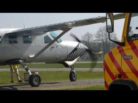 Cessna 208 Grand Caravan (Start up, Take off, Landing)