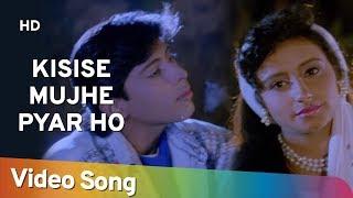 Kisise Mujhe Pyar Ho (HD)   Ishq Mein Jeena Ishq Mein Marna (1994)   Popular Romantic Hindi Song