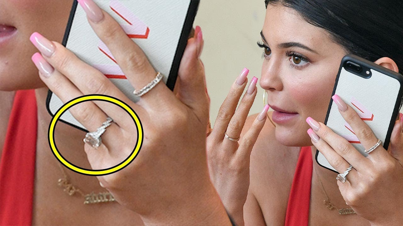 Kylie Jenner Spotted With MASSIVE Diamond Ring After Romantic ...
