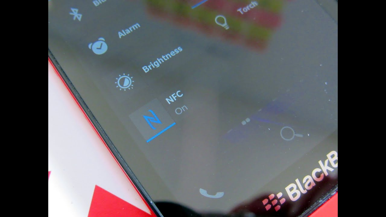 Using NFC tags on BlackBerry 10