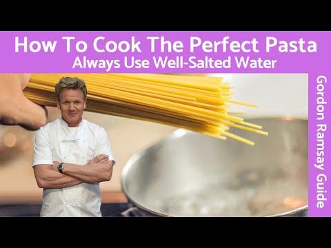 Gordon Ramsay Cooking Pasta Keep from Sticking - YouTube
