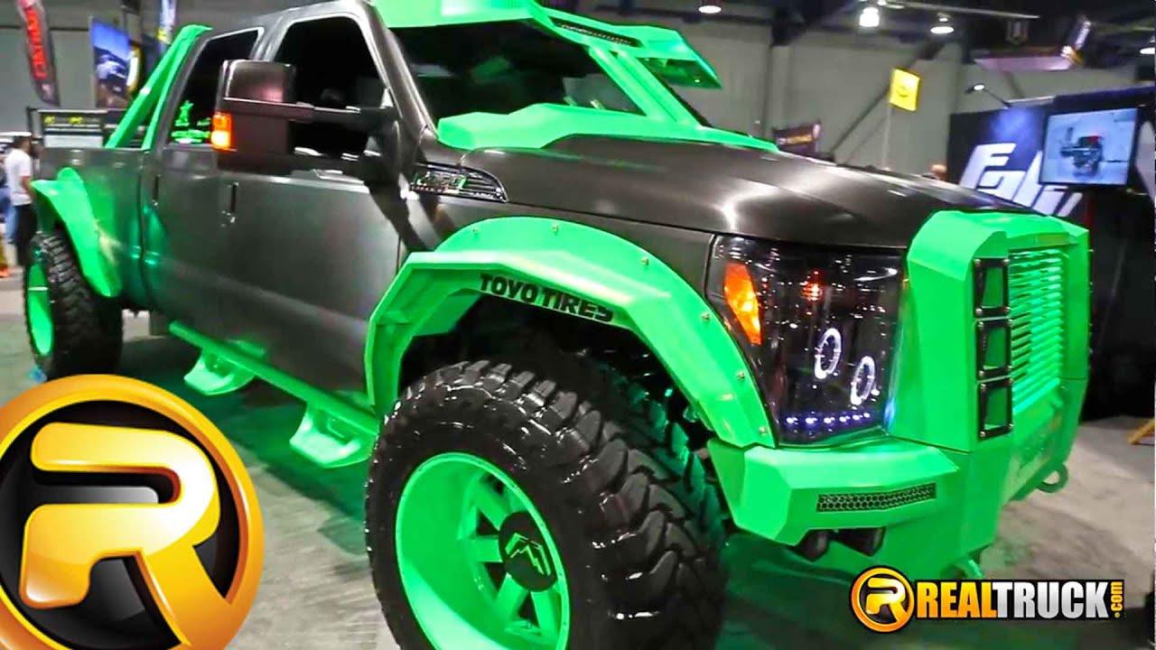 Fab Fours Ford Super Duty Platinum Custom Truck On 40