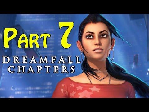 Dreamfall Chapters (Book One Reborn) Walkthrough - part 7 Chapter 2 Awakenings Lab Work 1080p