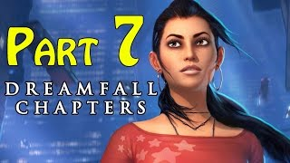 Dreamfall Chapters (Book One Reborn) Walkthrough - part 7 Chapter 2 Awakenings Lab Work 1080p
