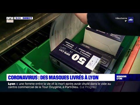Coronavirus: des masques livrés à Lyon