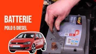 Changer la Batterie POLO 5 1.6 TDI 🔋