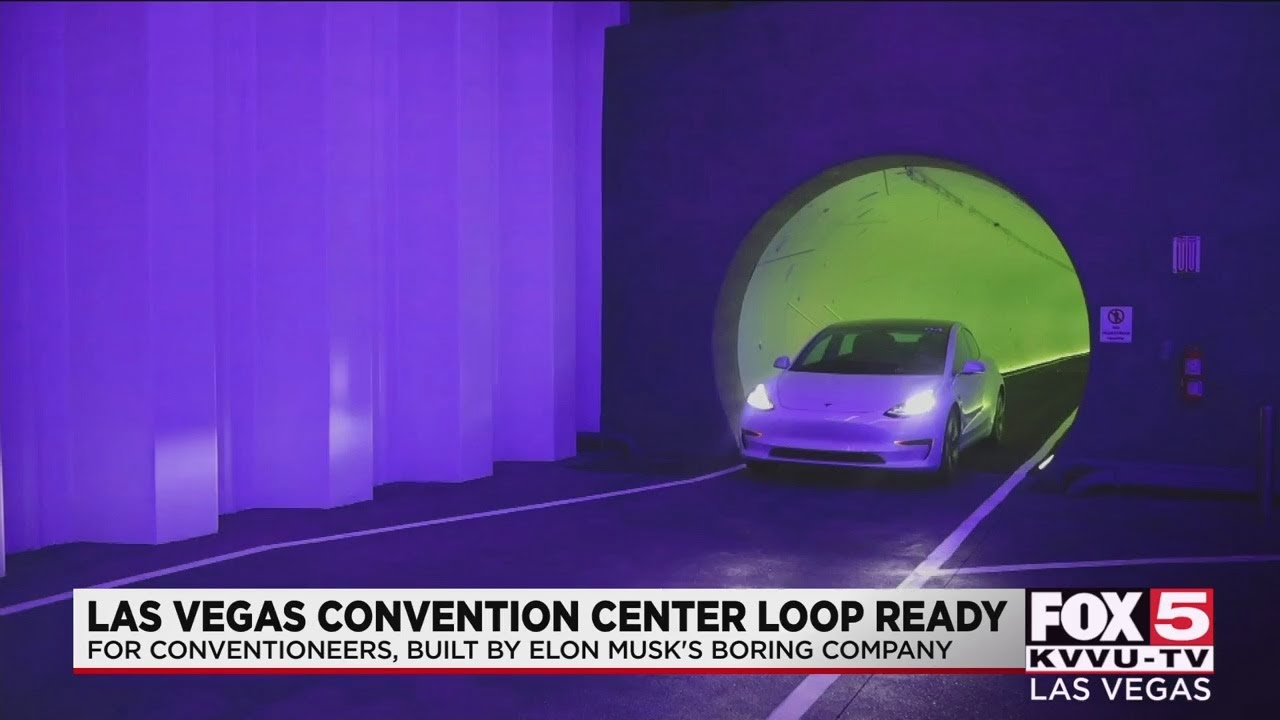 Elon Musk's Boring Company moves forward with transportation tunnel underneath Las Vegas Conven