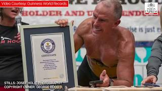 Guinness World Records: This 62-year-old man can hold a plank more than 8 hours