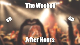 The Weeknd - After Hours (8D Audio)