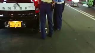 新潟駅前 公務執行妨害 逮捕の瞬間