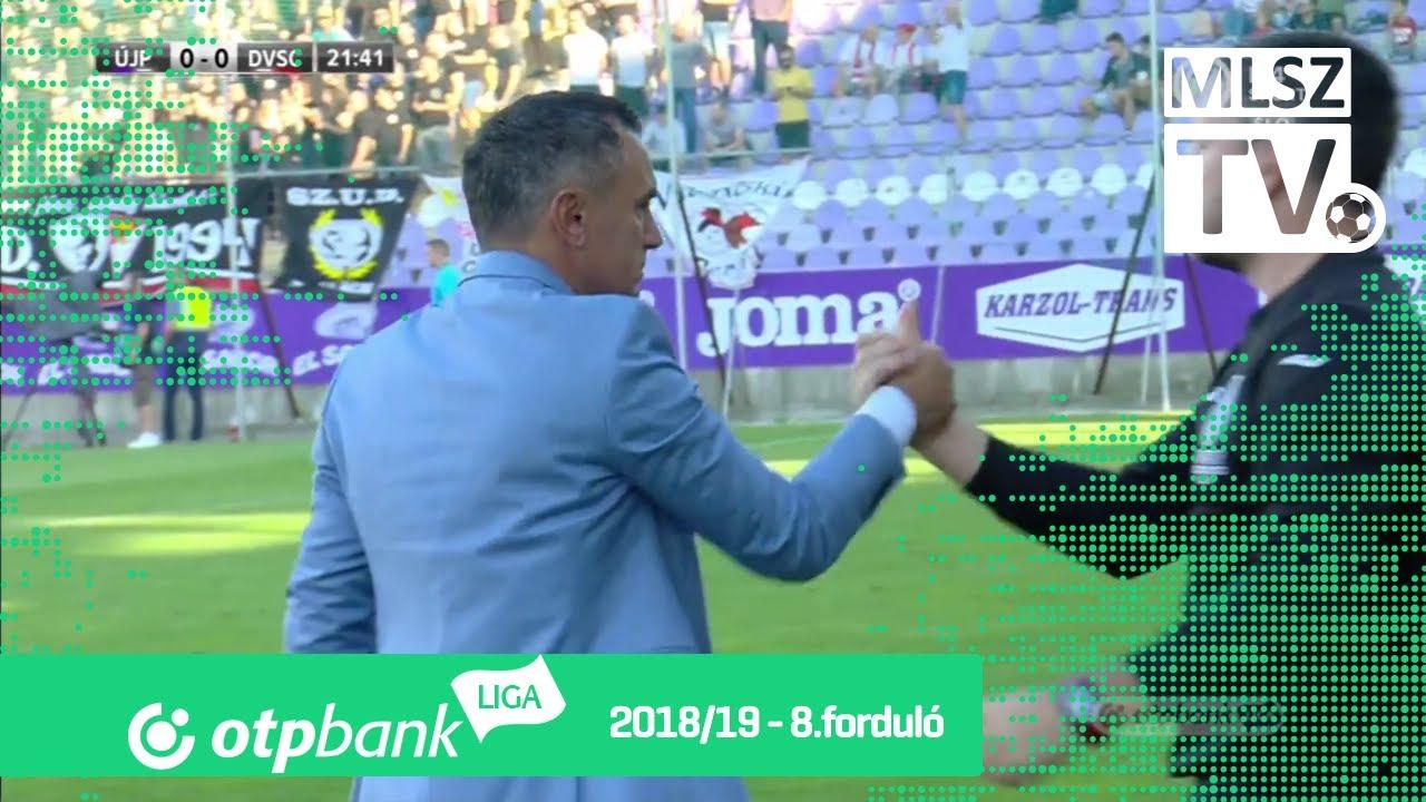 Újpest FC - DVSC | 1-0 (1-0) | OTP Bank Liga | 8. forduló | 2018/2019