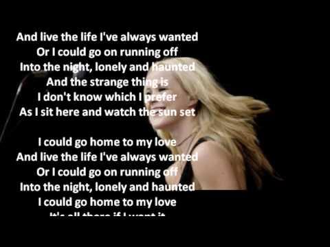 Tina Dico - Sacre Coeur ( Lyrics )